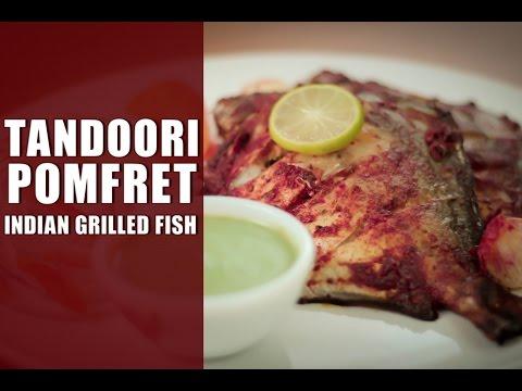 Tandoori Pomfret – Indian Grilled Fish Recipe  By Sharmilazkitchen