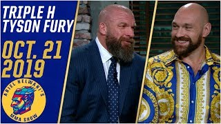 Triple H compares Tyson Fury's wrestling potential to Floyd Mayweather | Ariel Helwani's MMA Show