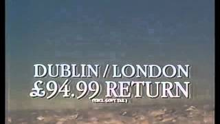 Ryanair TV Ad from 1987 on RTE