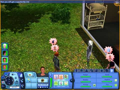 how to make a ghost baby on sims 3