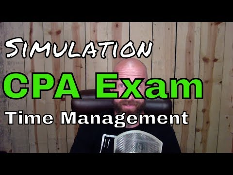CPA Exam Simulation (TBS) Time Management | CPA Exam NINJAs