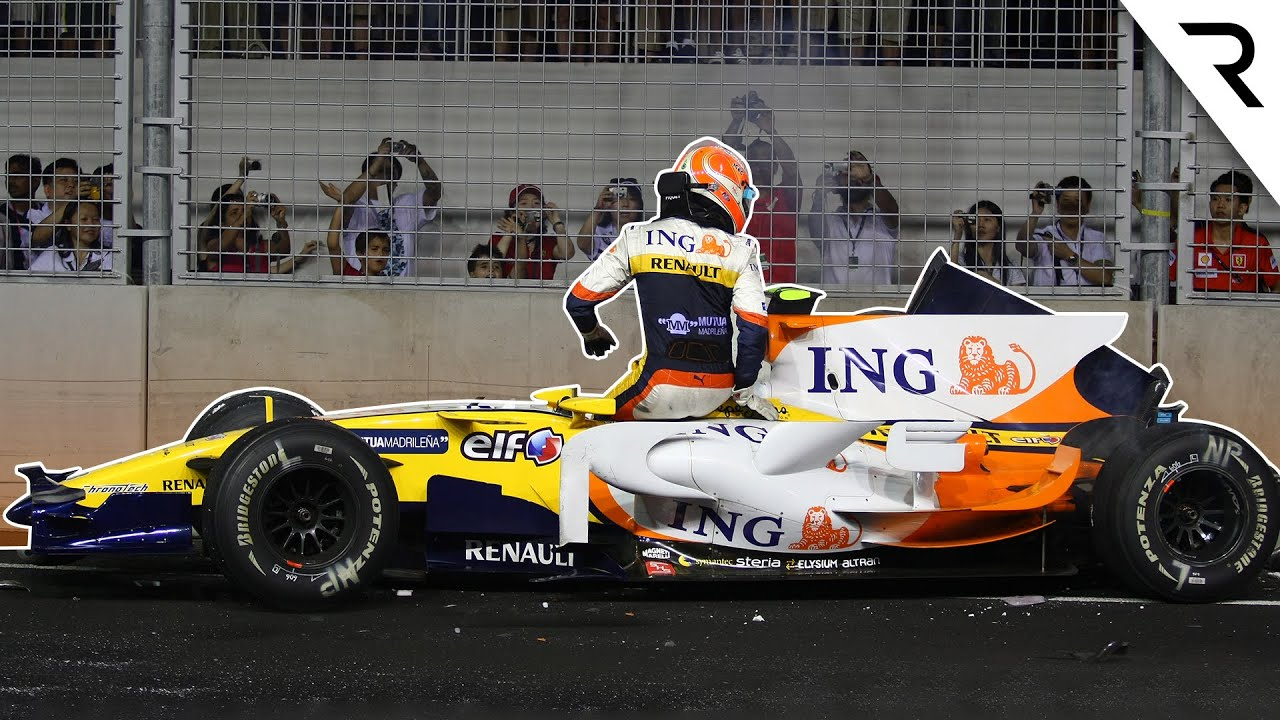 The 10 biggest controversies in F1 history