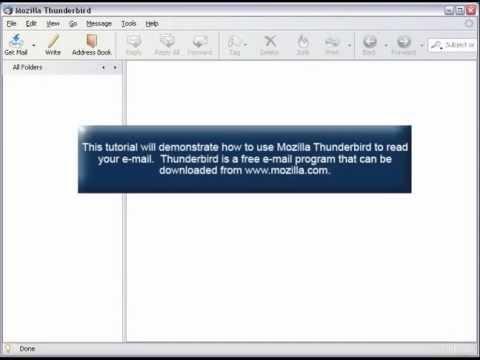 How to Access Email Using Mozilla Thunderbird