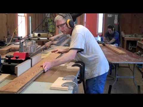 Making Tongue and Groove Flooring