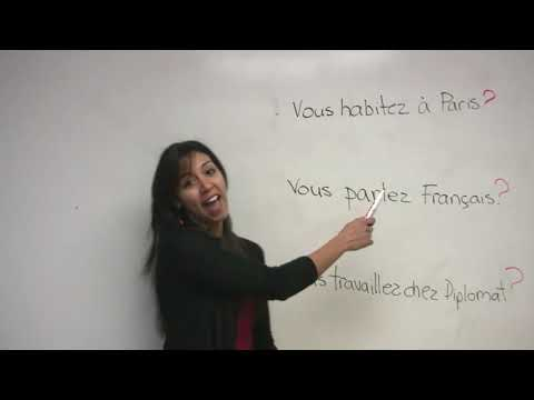 French for Beginners - How to Ask Questions in French