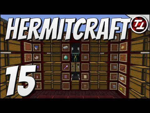 Hermitcraft V: #15 - New Auto Sorted Storage Room!