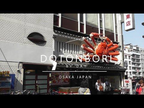 Japan, Osaka - Dotonbori by day (2018)