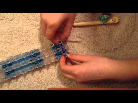 How to make rainbow loom mini bows