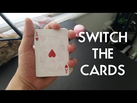 LEARN TO SWITCH THE CARDS TRICK PigCake Tutorials