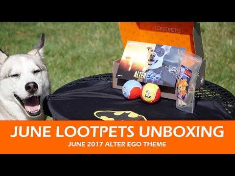 JUNE LOOTPETS UNBOXING | June 2017 Alter Ego Theme