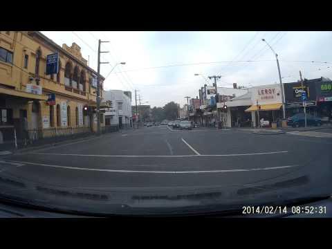 Red Light offence 14 Feb, 2014, St Kilda, Melbourne VIC