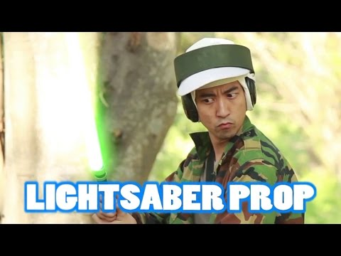 Lightsaber Prop (Super Easy)