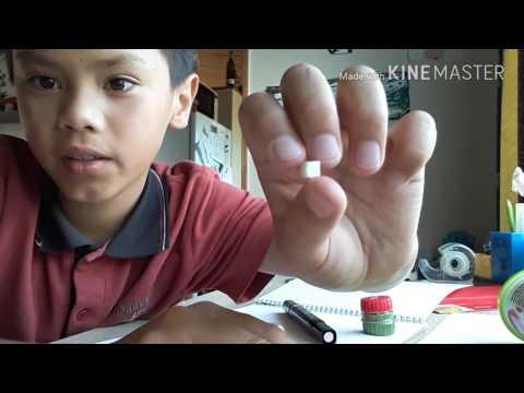 How to make a fake tooth