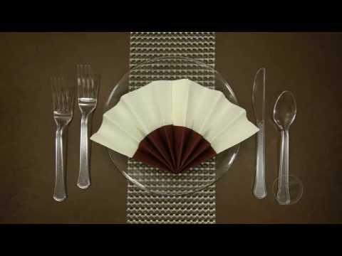 Fan - Paper Napkin Folding