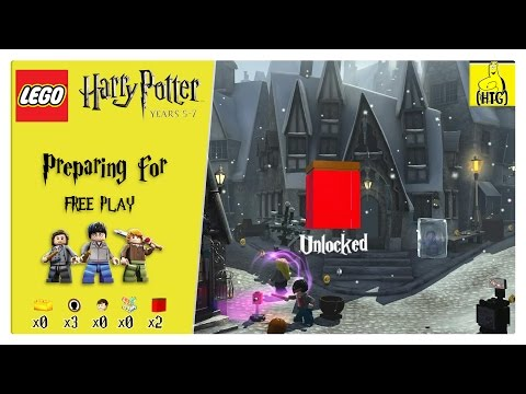 Lego Harry Potter Years 5-7: Preparing For FREE PLAY (Characters & Red Bricks) - HTG