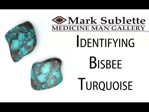 Native American Indian Jewelry: How to Identify Genuine Bisbee Turquoise in Native American Jewelry