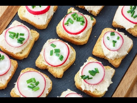 Easy Tuna Mousse Dip + Appetizers