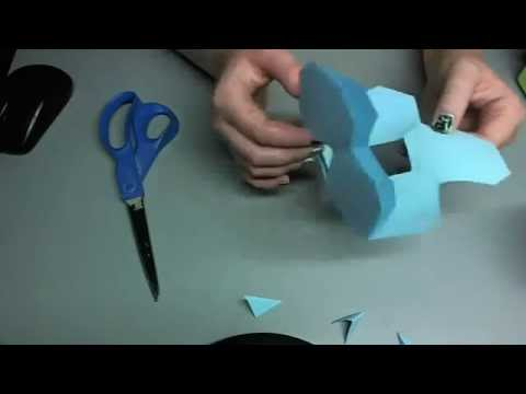 ♥ 100 Subscribers!!! How to Make A Paper Snowflake ♥