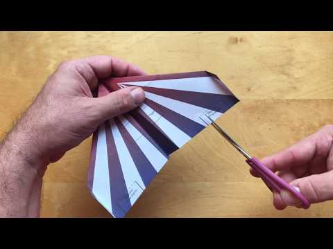 How to fold  -  P1 Dreamer template for POWERUP DART