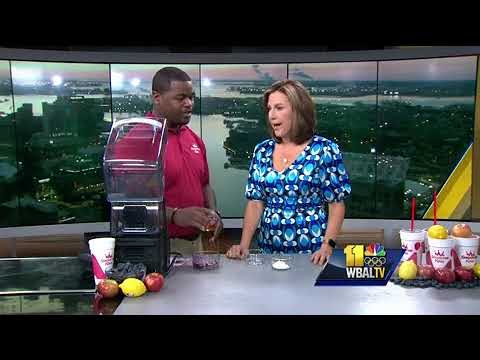 Learn Smoothie King's blueberry smoothie recipe