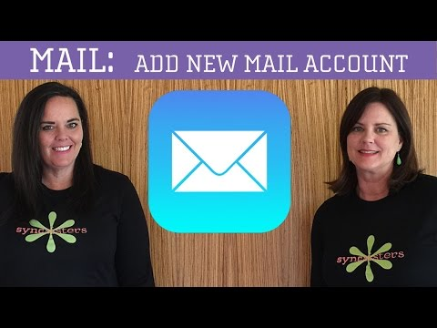 iPhone / iPad Mail - Add new mail account
