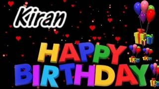 Happy Birthday Kiran Image Wishes✓ - PakVim net HD Vdieos Portal