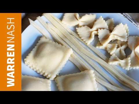 How to make Pasta without a Machine - Homemade & Fresh - Recipes by Warren Nash