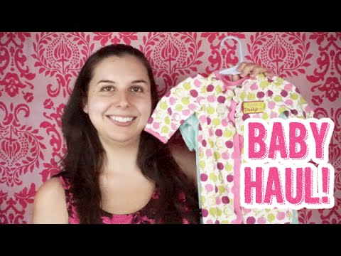 Another Baby Girl Clothing Haul! Big Consignment Sale Event