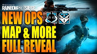 Rainbow Six Siege - In Depth: NEW OPS, MAP & MORE FULL REVEAL SHIFTING TIDES - KALI - WAMAI