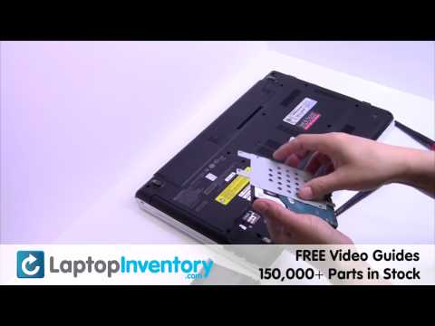 Sony Vaio VPCEH Hard Drive Installation Replacement Guide - SATA Laptop Remove Replace Install