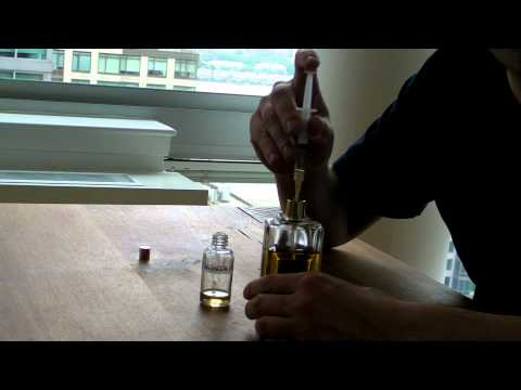 How to Decant a Fragrance Without Atomizing