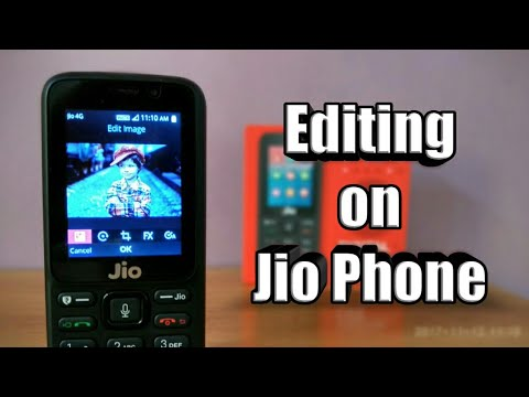 How to edit your pictures in Jio Phone ✓