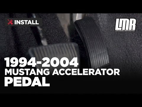 1994-2004 Mustang Accelerator/Gas Pedal - Install & Review