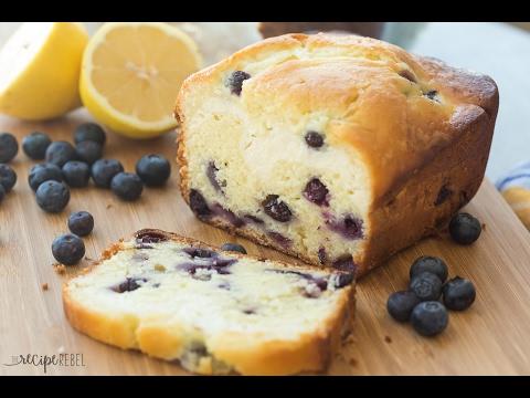 Cream Cheese Filled Blueberry Lemon Bread Recipe