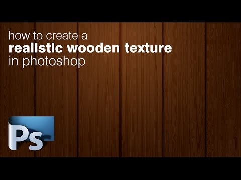 How to Create a Wooden Texture in Photoshop | Photoshop Tutorial