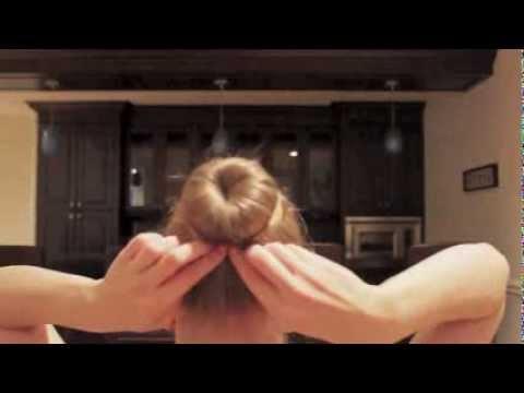 Perfect Ballet Bun Tutorial (with bun donut)