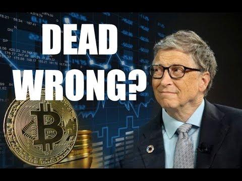 Bill Gates/Warren Buffett Wrong About Bitcoin?