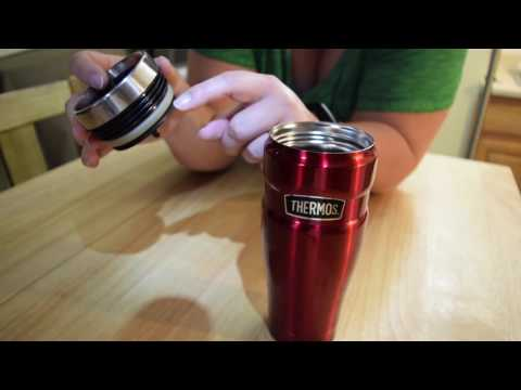 Using and Caring for your Thermos Stainless King 16 oz. Travel Tumbler