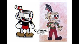 Cuphead Characters as Horror Movie Villains