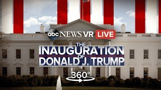360º Trump Presidential Inauguration (VR) | ABC News