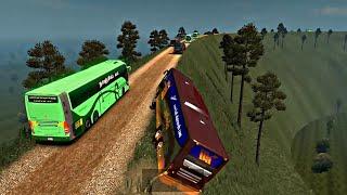 Kerala Maruti body build bus mod   Euro truck simulator 2
