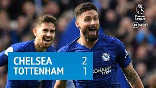 Chelsea v Tottenham (2-1) | Premier League highlights