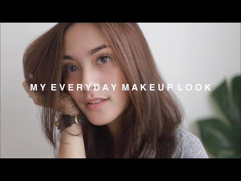 Drugstore Everyday Makeup Look - Cindy Priscilla
