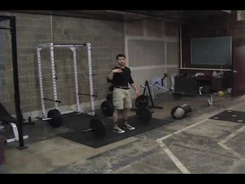 Power Clean & Press - Barbell