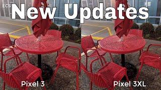 Google Pixel 3XL Vs Google Pixel 3 NEW UPDATES | Camera Comparison |The Best Vs The best ???
