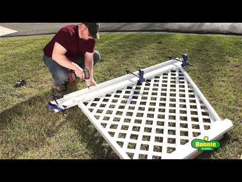 How to Build a Simple Corner Trellis