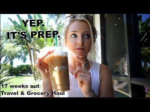 TRAVEL| GROCERY HAUL | 17 WEEKS OUT | YEP. IT'S PREP EP. 2