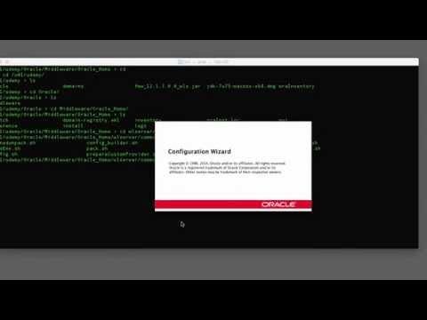 Learn Oracle WebLogic 12c Essentials - Creating a WebLogic Domain