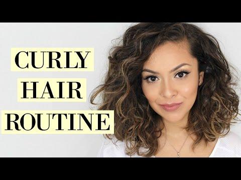 CURLY HAIR ROUTINE For Short Hair - TrinaDuhra