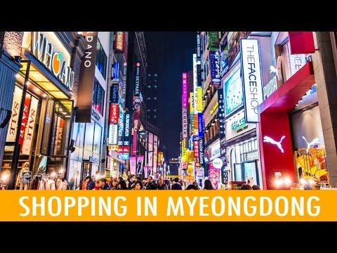 Shopping in Myeongdong and more! (KWOW #166)